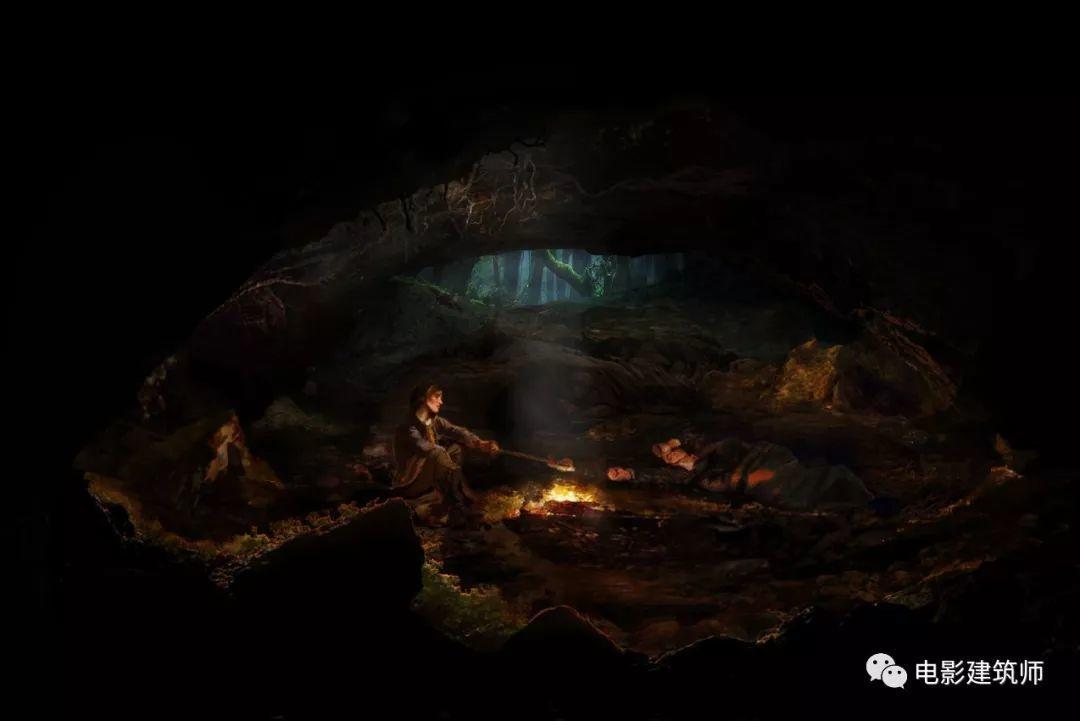 电影《饥饿游戏》里的场景设计