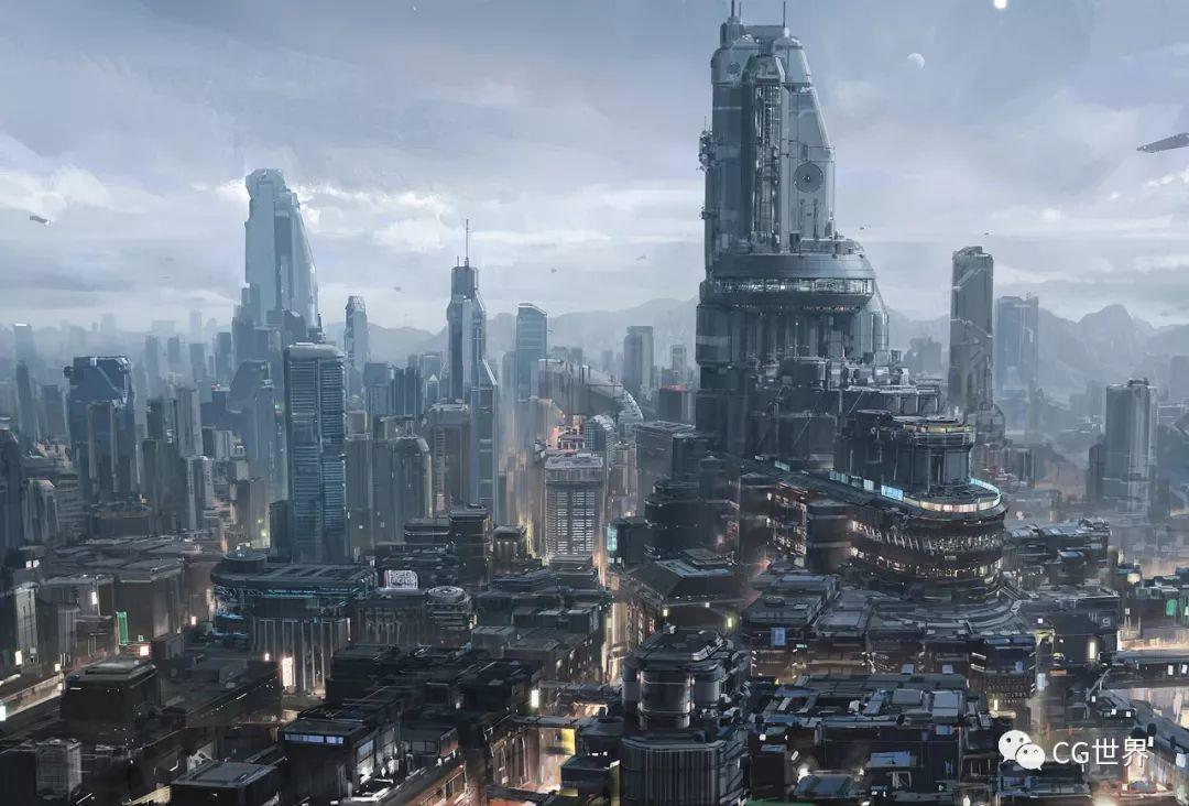 创作科幻建筑和机械贼6!国人概念设计师李远专访