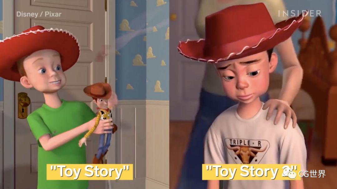 《玩具总动员》这24年CG技术都经历了怎样的变化?