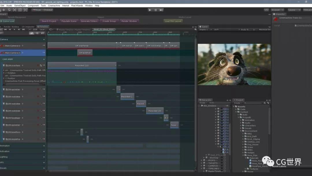 现在都时兴引擎做动画了么?!Unity制作动画短片技术详解~