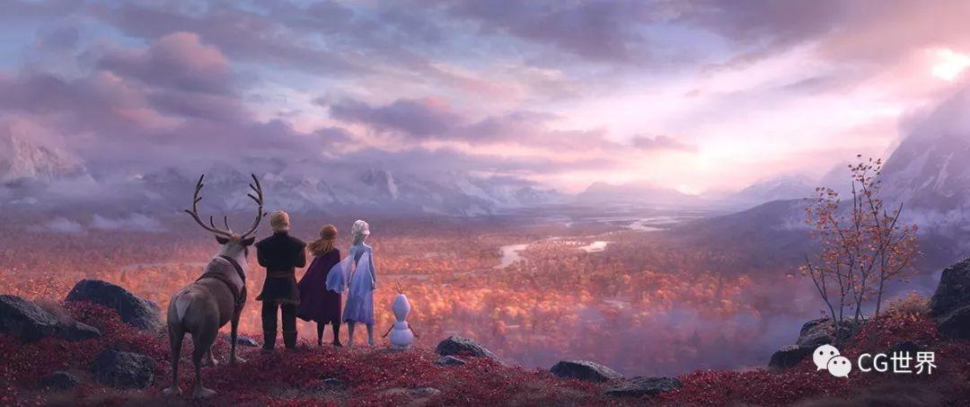 """从《冰雪奇缘2》看迪士尼如何""""种树""""~"""
