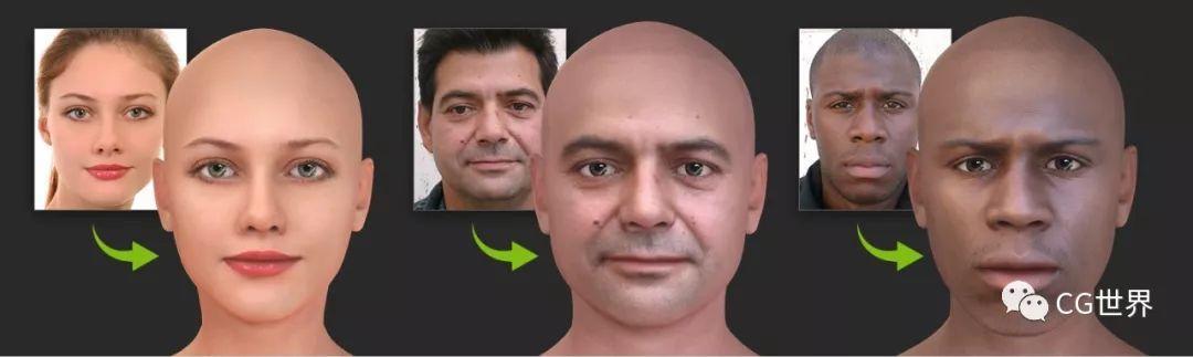 还在手雕?只用一张照片就能实时生成3D头像软件来了