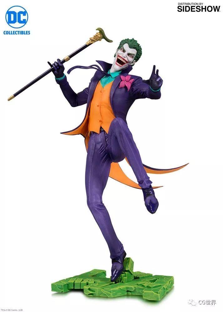看《小丑》压抑?来看看CG大神们塑造的小丑吧