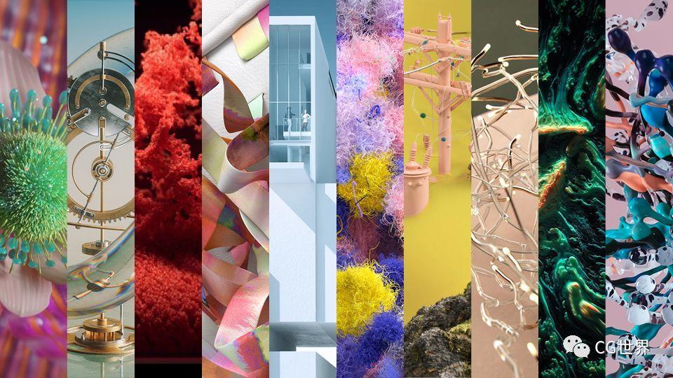 Stash2019年全球最佳创意3D作品