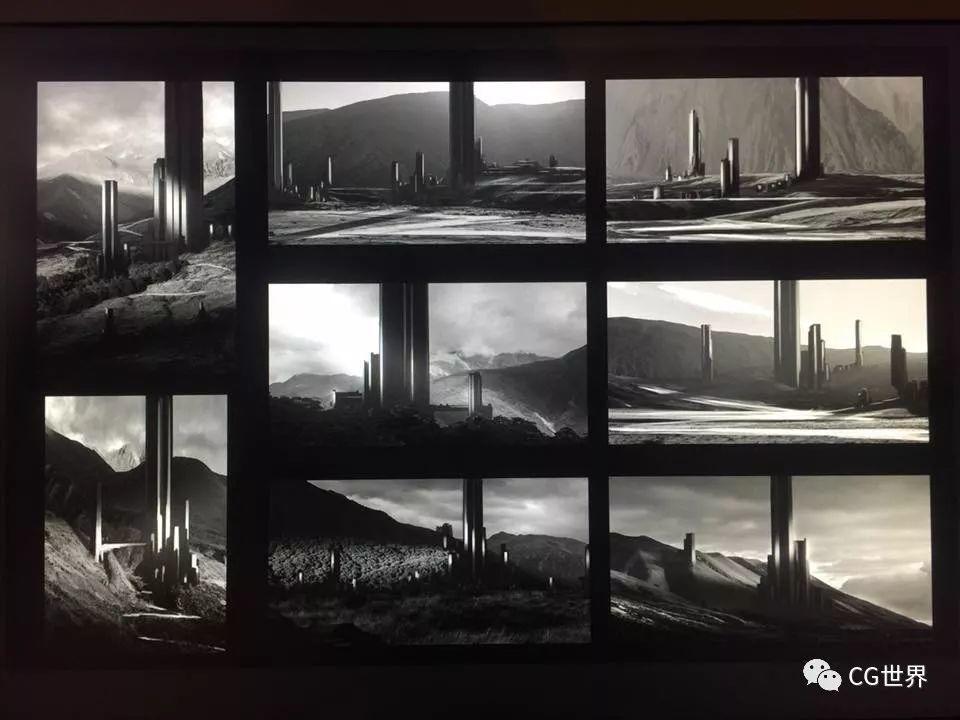 平面出身,6年大学教授!学习VFX,参与22部大片概念设计,神啊!