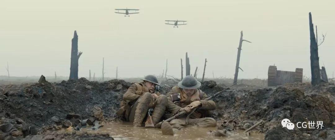 获得最佳视效的《1917》到底有什么特效?扒一扒幕后制作