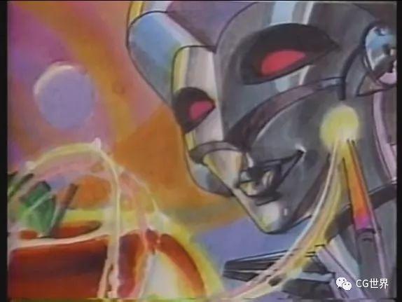 看过1985年的全CG广告么?全数字输入还用了动捕~