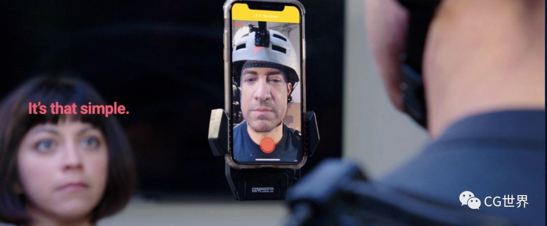 谁有IPhoneX!?可60fps捕捉渲染脸部52种肌肉运动的APP