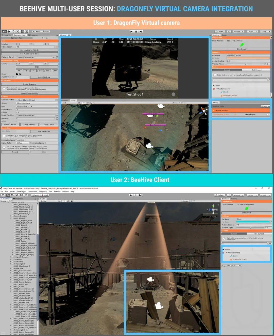支持UE4,Unity,Maya,可跨区域跨平台实时协同虚拟制作软件来了~