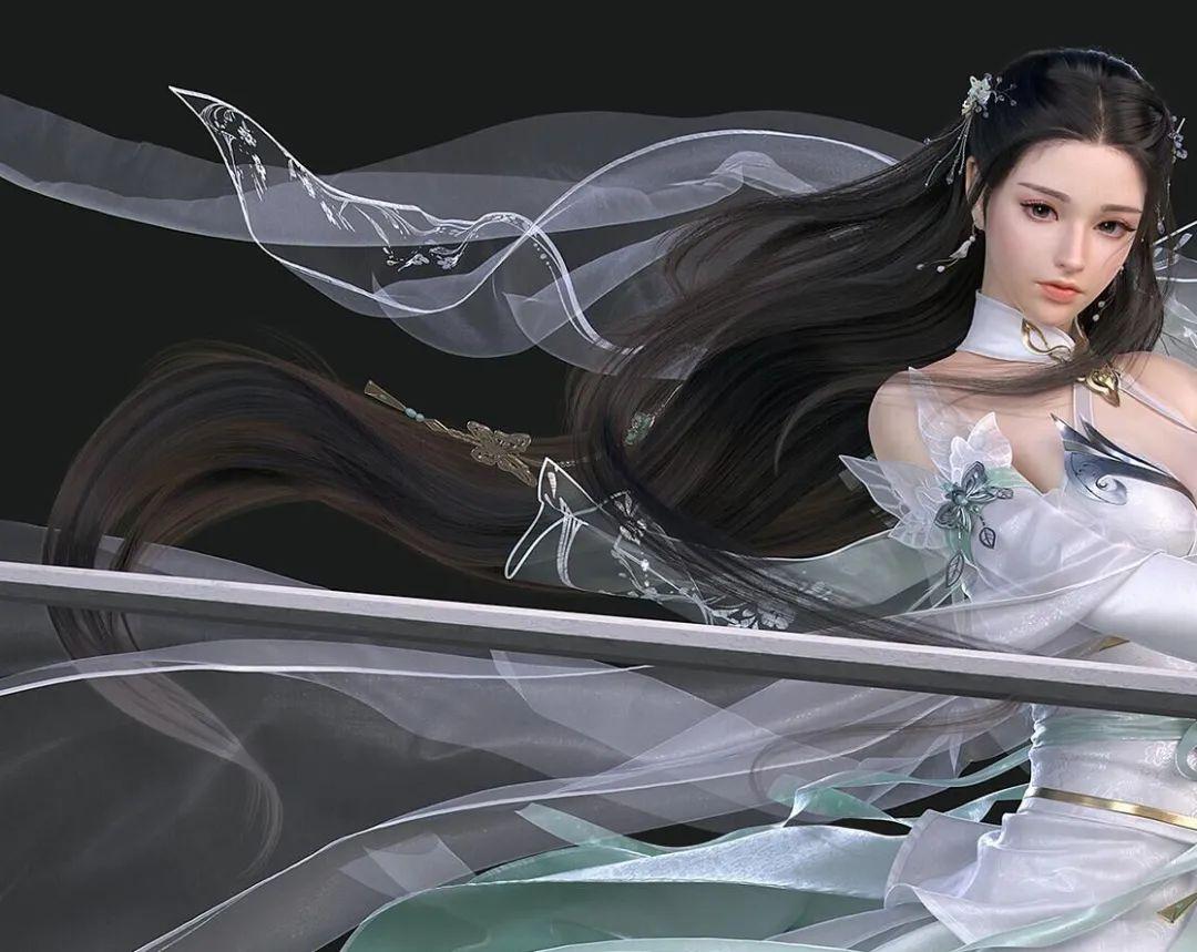 如何塑造古装小姐姐?专访CG艺术家李世林