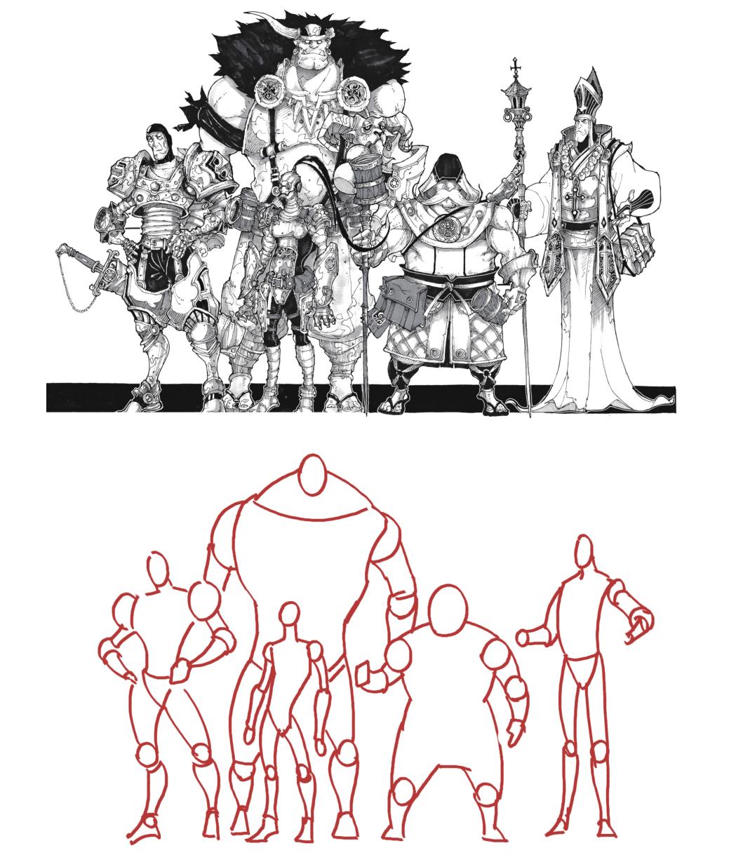 人物、动物、怪物解剖哪里有?概念大神都画在这本书里了!
