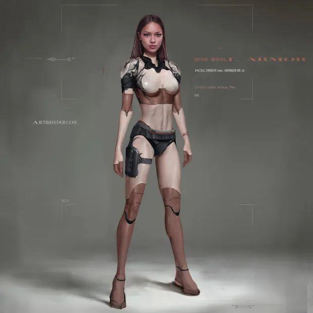 什么是数字时装模特?大佬用AI+传统CG流程玩潮流!