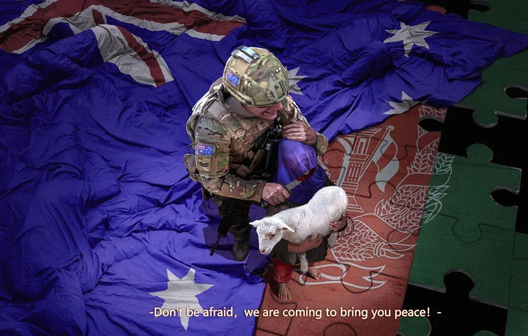 他的一张画,让澳大利亚总理狂怒要中国道歉