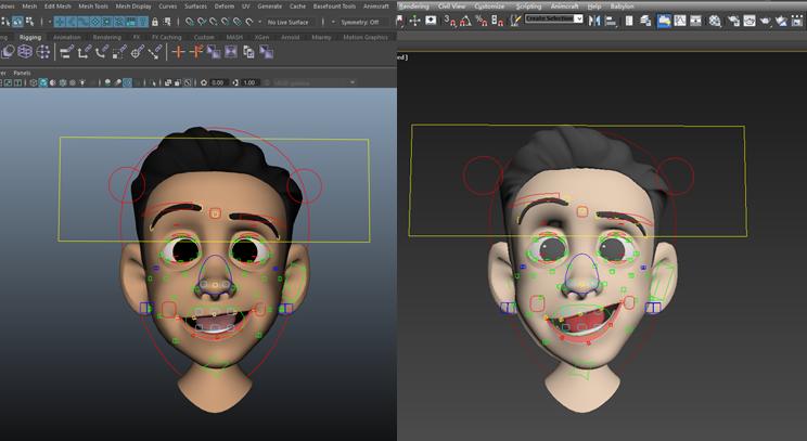 30分钟可完成面部表情绑定!?Animcraft 2.0发布,更强大更方便了!