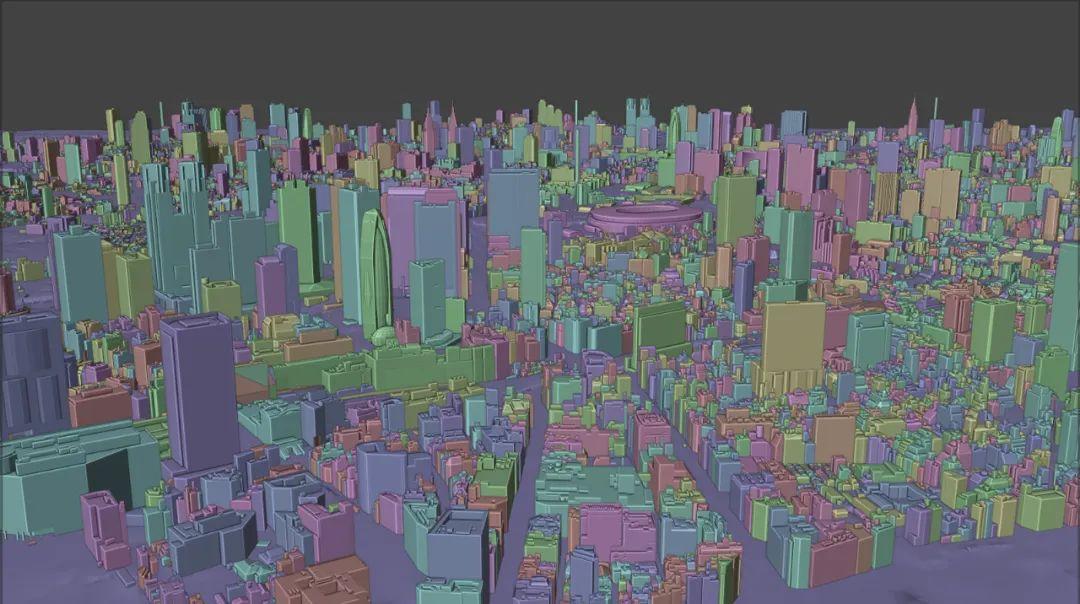 10G的FBX格式东京23区3D城市模型