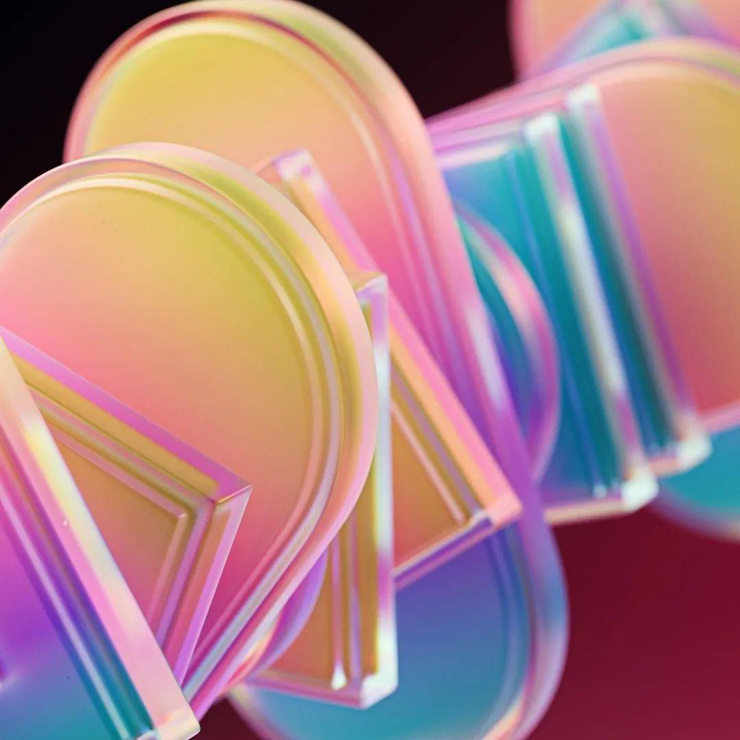 这动图能看一天!治愈系3D艺术作品