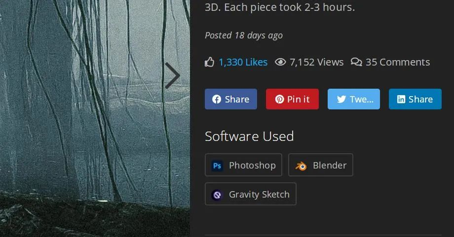 "Blender在概念设计界这么受欢迎?Blender已""攻陷""概念设计大佬们的作品"